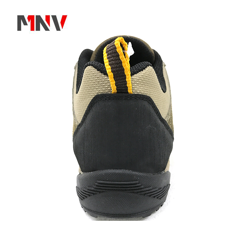 simply style outdoor climbing hiking shoes with cow suede leather waterproof 2018 new style