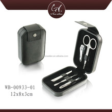 Travel Black Disposable Manicure Kit, Disposable Manicure Pedicure For Men,Good Quality Luxury Professional Manicure Pedicure