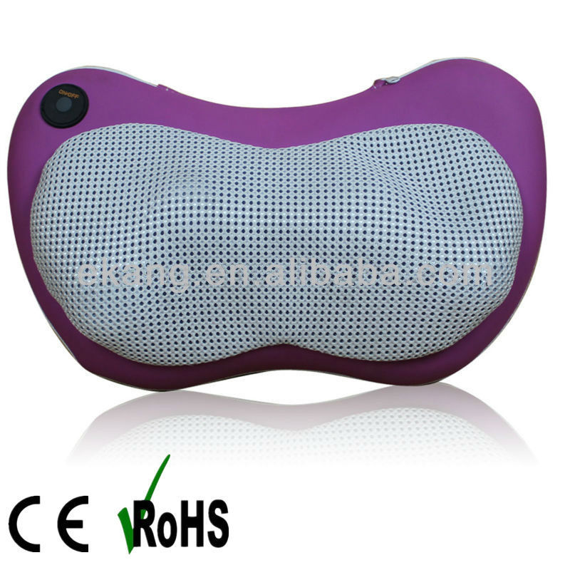 Butterfly design car massage neck pillow