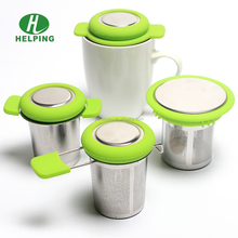 Extra Fine Hole Tea Strainer,Loose Leaf Infuser Large Infuser Basket, Stainless Steel Filter