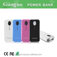 2016 top selling colorful touch silm battery charger Power Bank