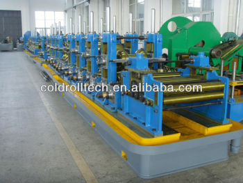 High frequency welded steel pipe making machine, tube mill, pipe mill