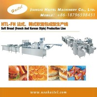 2016 Bakery Machines High Speed Soft Bread Making Machine Producing French and Korean Style Bread