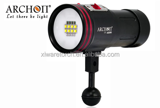 ARCHON W42VR Underwater Photographing Light Underwater <strong>Diving</strong> Video Light Fashlight <strong>Torch</strong>