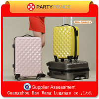 Fashion Bird Design Sky Travel Hotel Colorful Hard Shell Luggage Trolley Manufacturer
