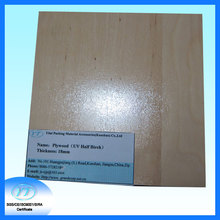 18mm Thickness UV Half Birch Flat Die Plywood for Die Making