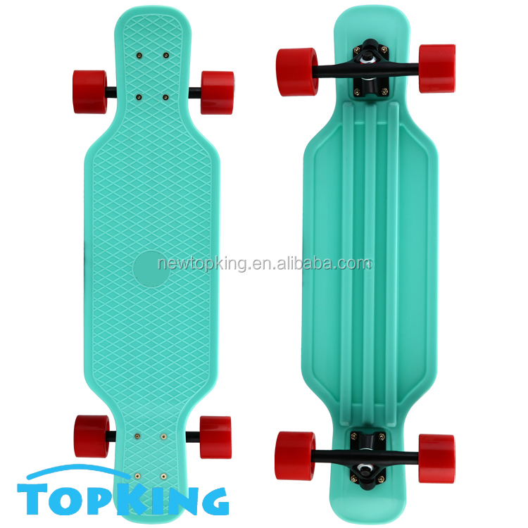 Topking new design Easy take plastic longboard / Longboard skateboard