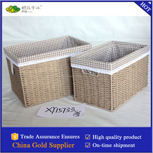 gifts dark cream basket storage basket woven gift basket