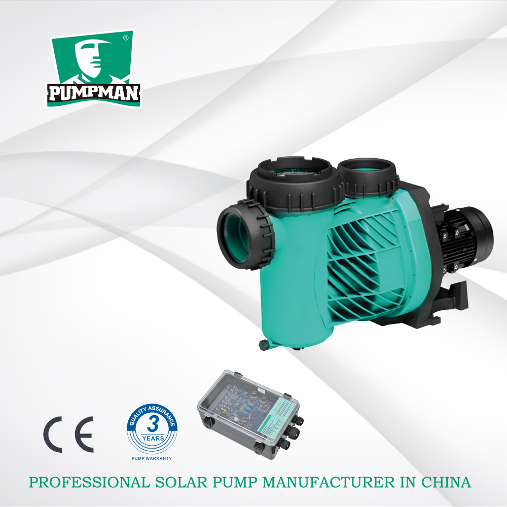 Pumpman TSSP 750W high efficiency solar power system for swimming pool solar water pump