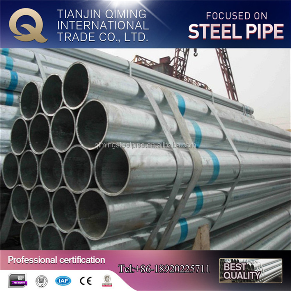 Building materials galvanized steel pipe! gi pipe! galvanized steel pipe for greenhouse frame