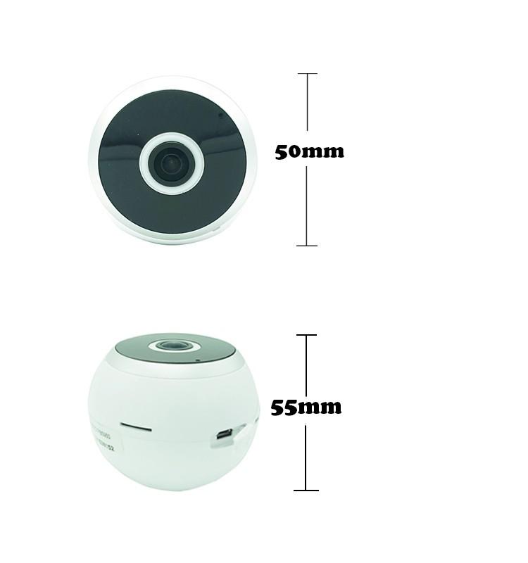 Low cost vr 360 degree fisheye hidden wifi spy light bulb - Low cost camera ...