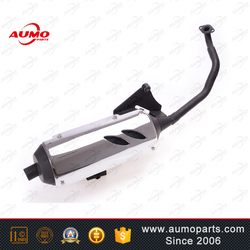 Hot motorcycle exhaust pipe for some 125cc scooters chinese scooter parts muffler assy