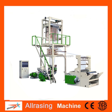 Double Layer Co-Extrusion Rotary Die ABA Plastic Film Blowing Machine