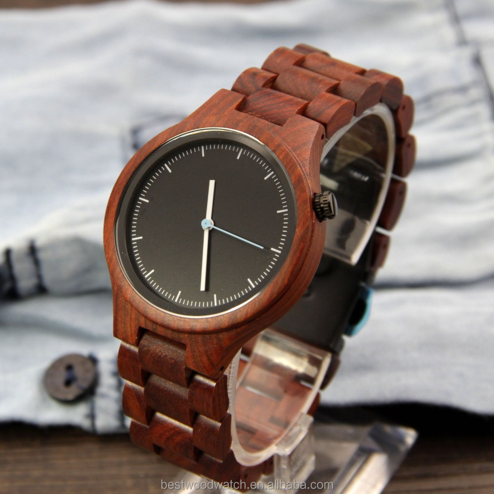 Custom Logo Watches Wholesale Natural Wood Watch