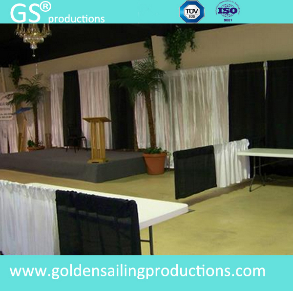 Wholesale pipe and drape, wedding decoration pipe and drape system