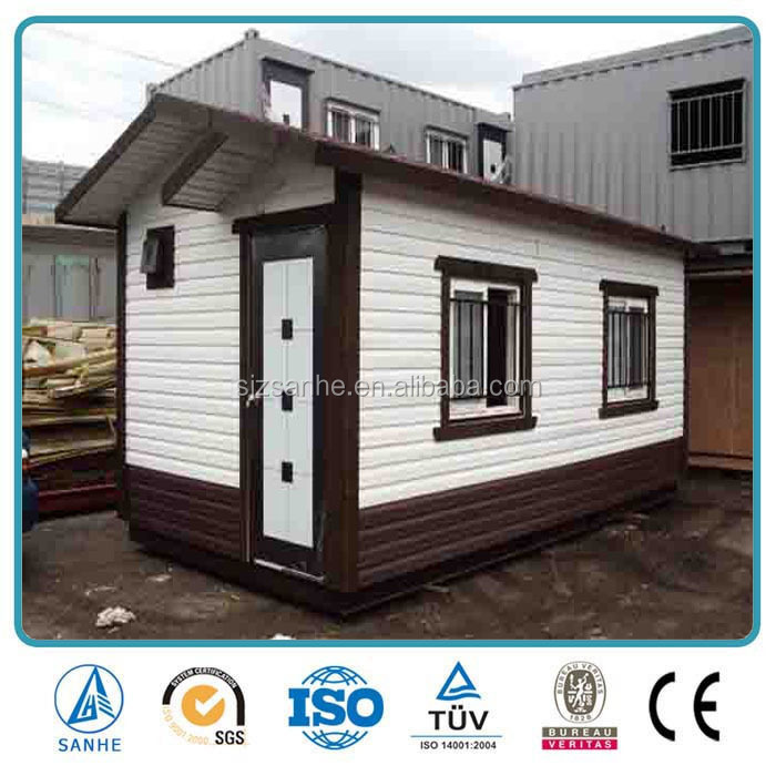 2016 durable customized makeshift de coated modular well designed container home/family type container house