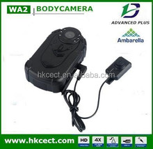 Law Enforcement Motion detect recording Office hidden camera with one touch recording cctv body worn camera