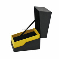 black paper color cardboard watch box