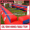 Challenge human table football field inflatable sports
