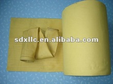 high temperature resistent p84 filter bag dust bag in steel industry