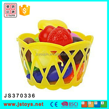 2016 hot item plastic toys fruits and vegetables for kids