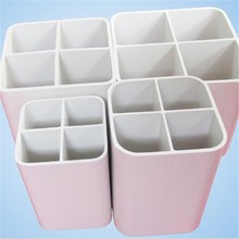 Slotted Square PVC garden Pipe white Hebei China