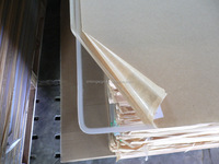 1.5mm thin flexible clear plastic sheets