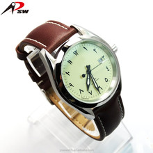 316L stainless steel Arabic numerals dials watches logo design Japan quartz watch with date