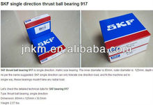 SKF Single direction thrust ball bearing 917