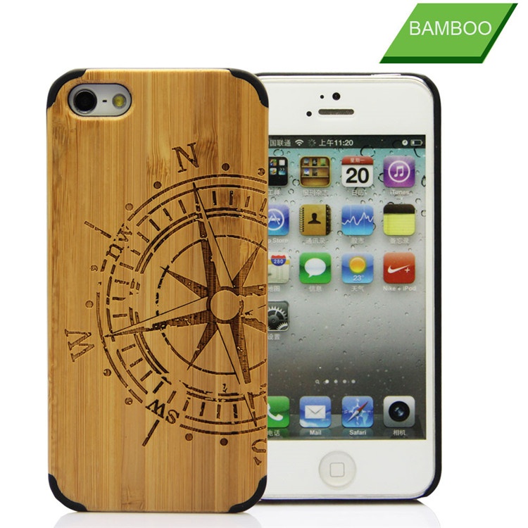 wholesale smartphone case , back case cover for smartphone , wooden for iphone 5 smartphone case