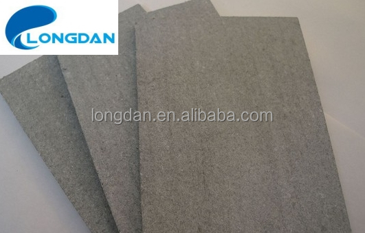 High Strength Non-asbestos Fire-proof Water-proof Sound-proof 18mm Fibre Cement Sheet for Building Exterior Wall
