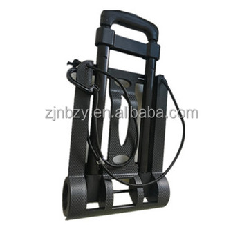 Plastic Portable Luggage Cart