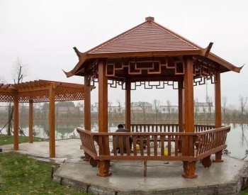 Chinese Gazebo Wooden Color Aluminium Gazebo 3x3