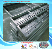210mm*45mm*4000mm*1.5mm 1.6mm Gainford good aluminum scaffold steel plank for construction