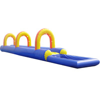 PK16032601 customized giant inflatable adult water slip n slide with 0.55mm pvc in playground