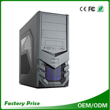 Slim classical computer case desktop gaming p4 atx computer case