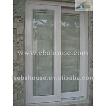 aluminum sliding window double glazing window blinds window built in blinds