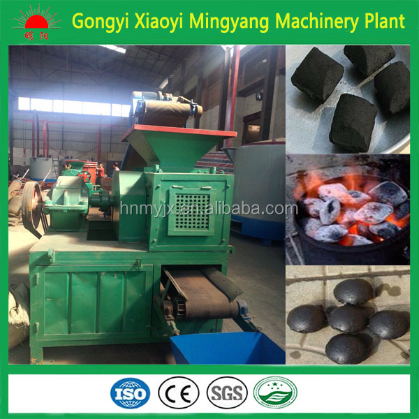 Hot sale in Europe Widely used in BBQ boiler market coal powder ball briquette press machine/charcoal pressed+8613838391770