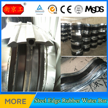 Bidding Engineering Factory Steel Edged Rubber Water Stop Strip