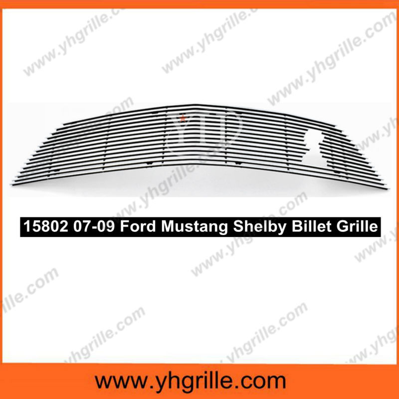 front Billet car Grille for ford Mustang Shelby