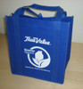 Reusable Non woven grocery bag with stiffener