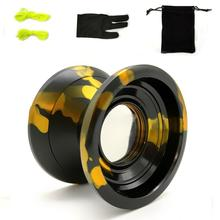 Roll over image to zoom in Aluminum Alloy U Bearing Professional Yo-Yo Toys Unresponsive <strong>YoYo</strong> Ball +2 Strings+1 <strong>YoYo</strong> Glove+1 Yo