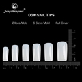 fengshangmei acrylic artificial nail tips white nail manicure full cover style professional false nail tip
