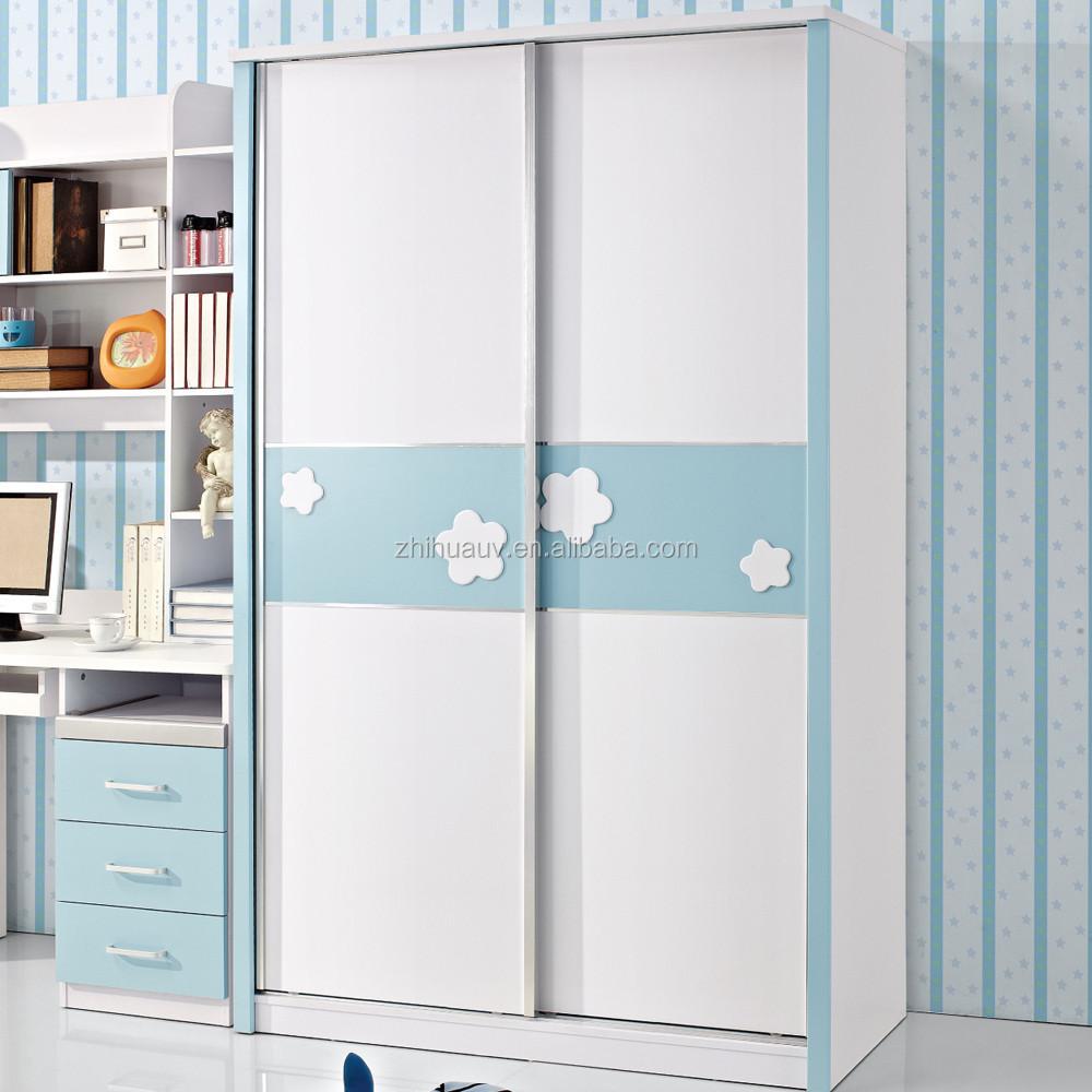 Lichte kleur higed deur moderne slaapkamer kast ontwerp kasten ...