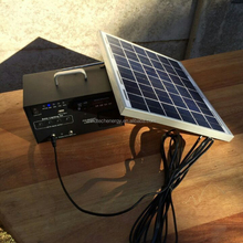 solar camping lighting with fm radio
