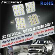 Led dome Car accesories light Golf 7 gti