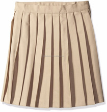 new style plain colour hot selling French toast skirt