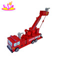 2017 New fashion funny kids wooden toy crane W04A301-S