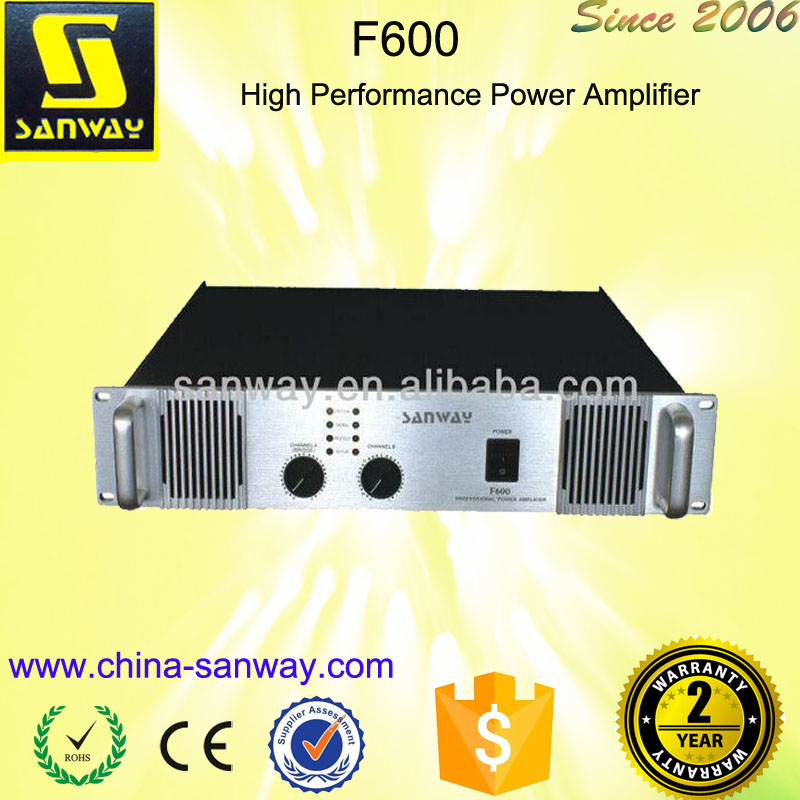 F600 Sound Digital Car Tube Stereo Amplifier