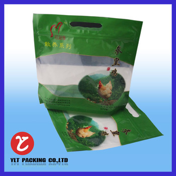 plastic packaging bag for chicken